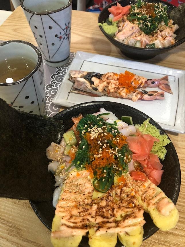 Sashimi Rice Bowls