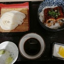 Cold Udon And Unagi Rice Don Set
