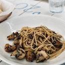 Mushroom Aglio Olio [$22]