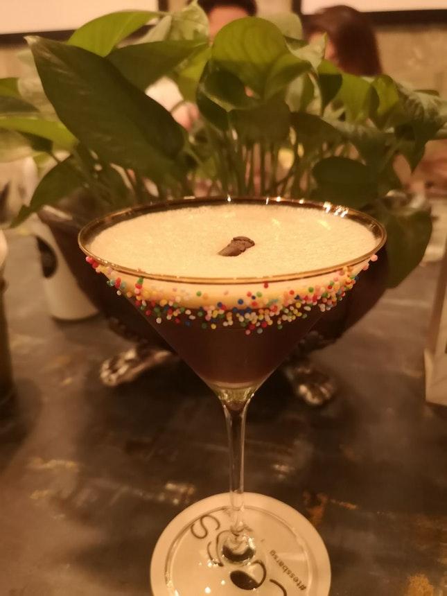 Salted Caramel Espresso Martini [$12]