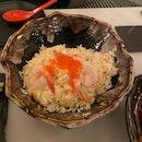 Crabmeat & Prawns Fried Rice [$20]