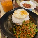 Basil Thai Rice w Pork