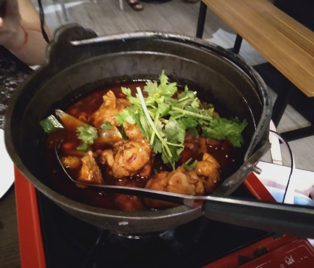 Spicy And Fragrant Chicken Pot (小辣)