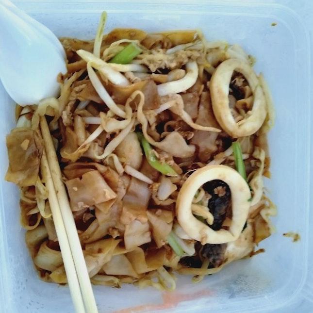 Seafood Hor Fun (Approx $5.50)