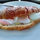 Egg Croissant ($13)