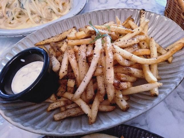 Truffle Konbu Fries