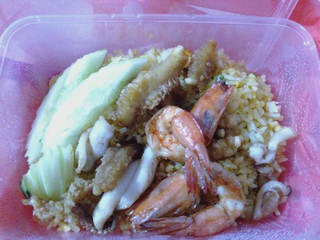 Thai Seafood Fried Rice @$5.50