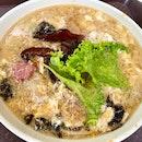 Fish Maw Noodle Soup ($11)