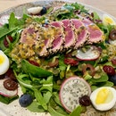 Ahi Tuna Salad ($14)
