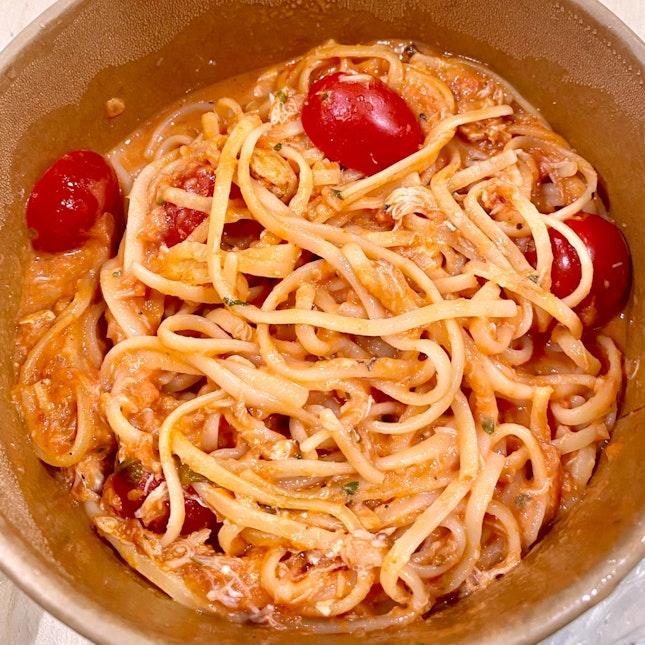 Spicy Crab Pasta ($13)