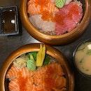 Tasty Chirashi Bowls In Heart Of CBD!