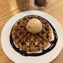 Icecream waffles