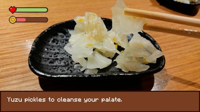 Free Flow Yuzu Pickle