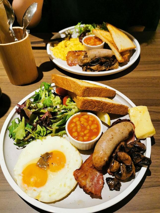 Atas Breakfast Set