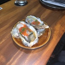 fresh japanese oyster & ikura