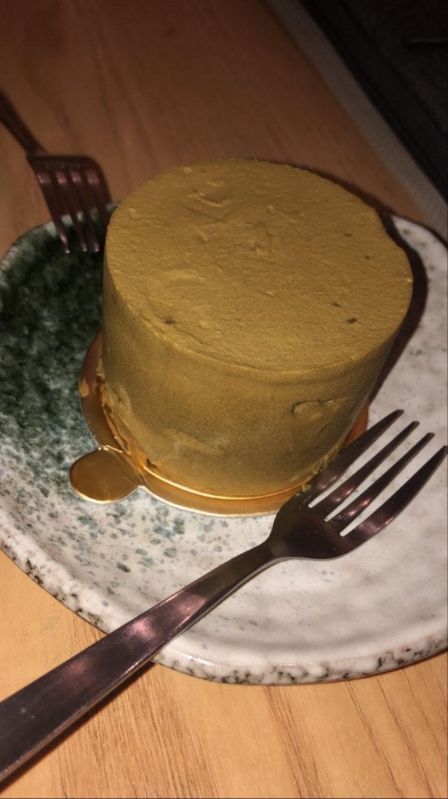 hojicha petit gâteau