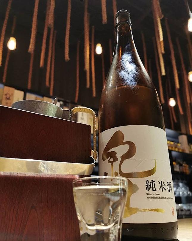 R O K U N A N A Premium Sake 😘 #sake #premiumsake #rokunana #japanesefood #japanesesake #kid #burpple #burpplekl #nice #good #greatenvironment #goodservice #friendly #instafood #insta #instasake @rokunanabar