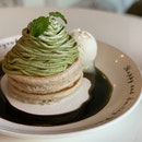 Matcha Mont Blac Pancake