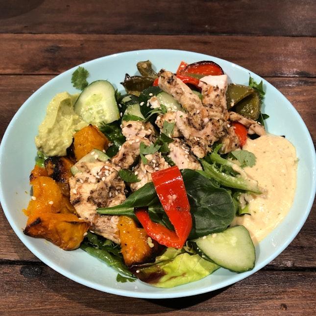 Herb Chicken Salad With Veggies