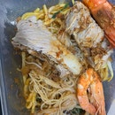 Dry Prawn Noodle