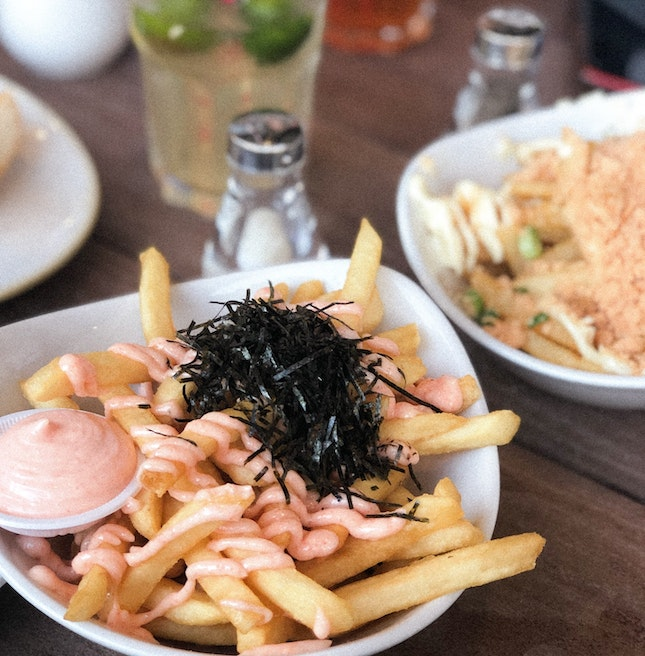 Mentaiko Fries ($6)