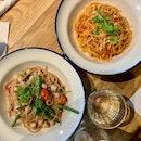 Spicy Pomodoro Crab & Baby Scallop Aglio Olio