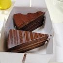 Assorted Chocolate Cake