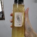 Honey Lemonade With Chia Jelly
