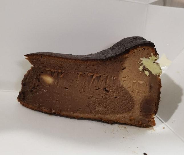 Choclste Burnt Cheese Cake