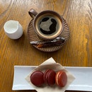 Macaron & coffee set