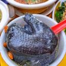 Ginseng Black Chicken Soup