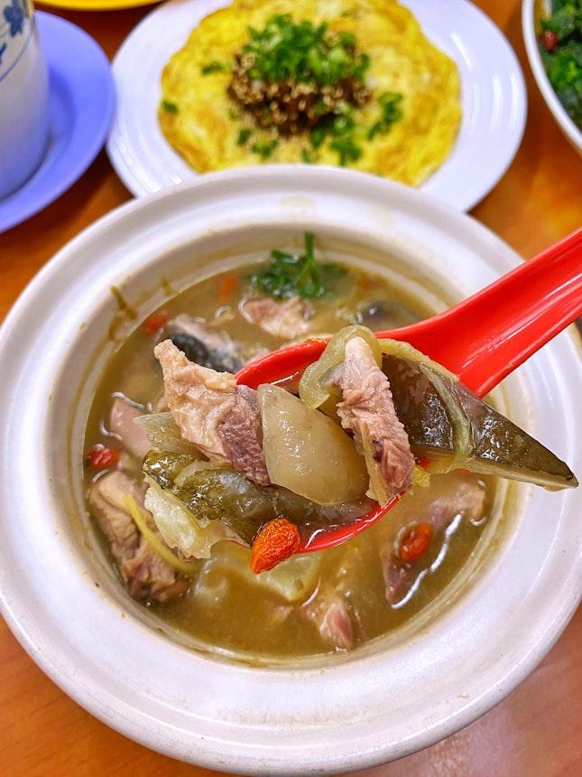 Claypot Turtle Soup