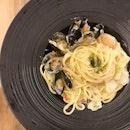 Cream Seafood Pasta