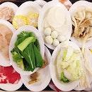 Balanced diets :) #igsg #instasg #xiandelai #bugis #whati8today #8dayseat #burpple #omysg #omyeats #foodgasm #foodporn #foodstagram #onthetable #alacarte #hotpot