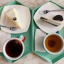 Mille crepe ($7.90), Oreo Cheesecake ($7.90)