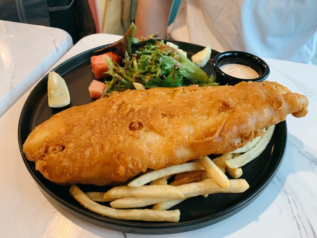 Fish & Chips ($19)