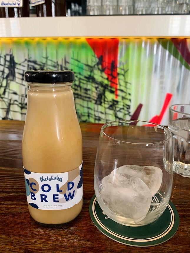 Cold Brew White ($7) with Vanilla (+$1)
