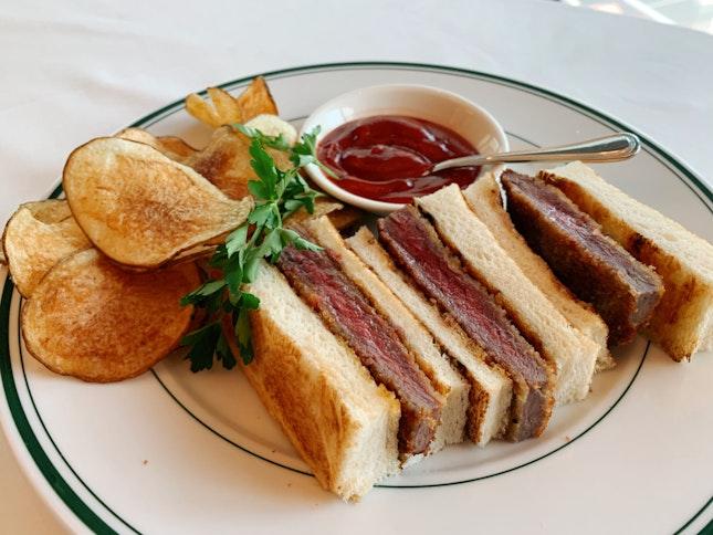 Japanese Style Katsu Sandwich ($42)