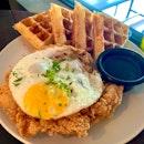 Chicken & Waffles ($20++)