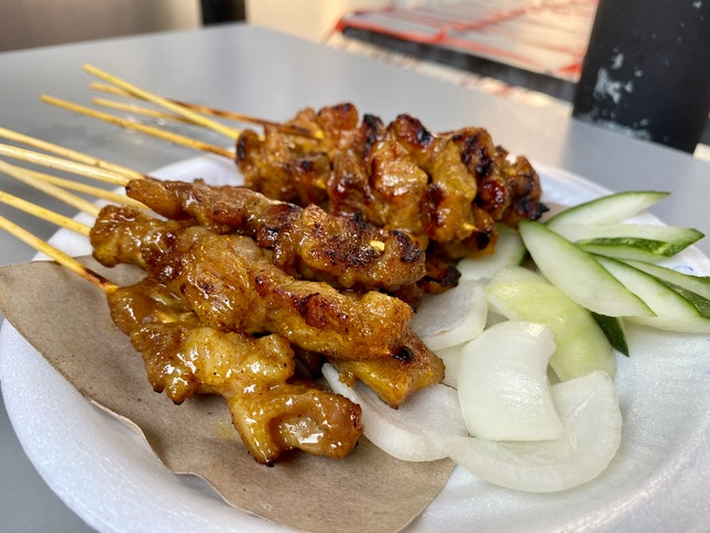Satay (70cents Per Stick)