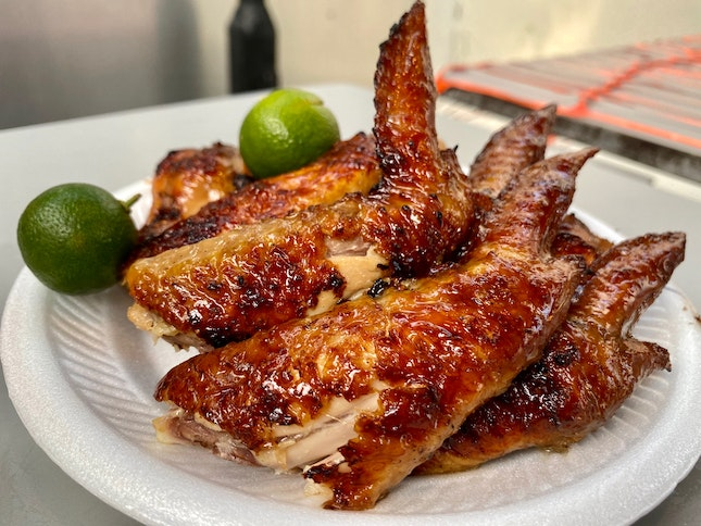 Bbq Chicken Wings ($1.40 Per Wing)
