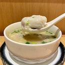 Vegetable Pork Wanton In Pork Bone Soup ($7.90++)
