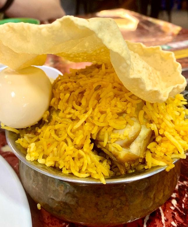 Chicken Dum Briyani | $8