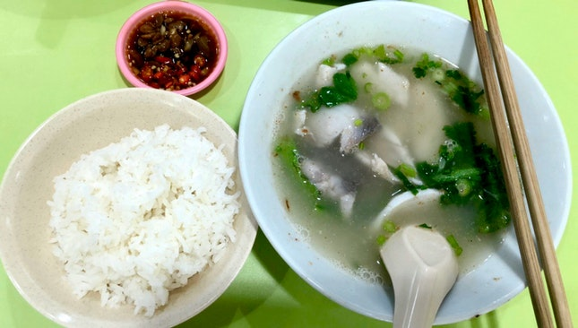 Sliced Fish Soup W Rice 7 By Jaslyn Tan Burpple