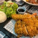 Juicy Chicken Katsu W/ Breaded Shrimp | $19