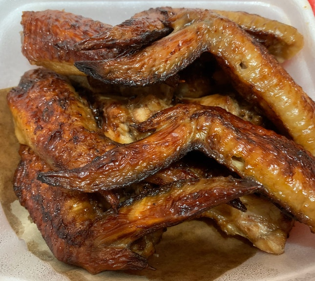 SIN Bedok North BBQ Chicken Wings   $1.40/pc