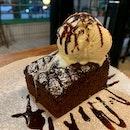 Homemade Fudgy Brownie | $9