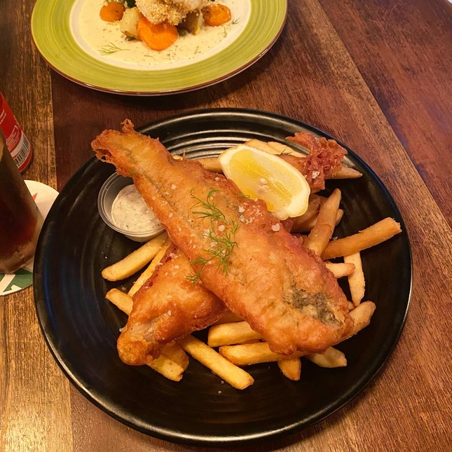 fish and chips 🐟🍟