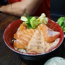 Salmon Zukushi Don ($19.80)