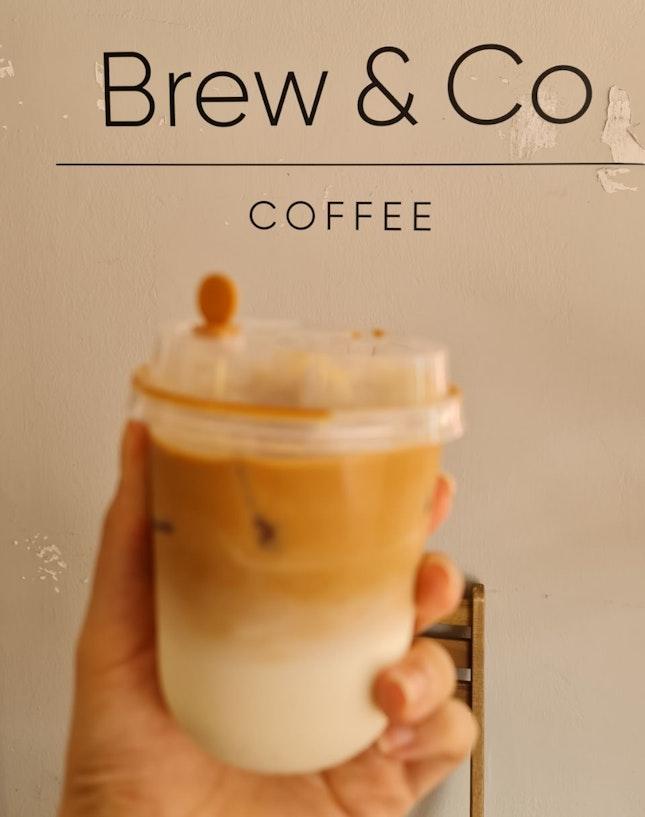 Iced White Coffee